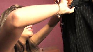 Nika Noire Deepthroats BBC Balls Deep - Cuckold Sessions