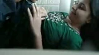 Submissive and playful Indian college girl in the car