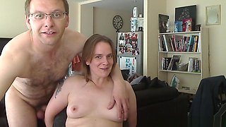 Homemade sex video of the older couple screwing