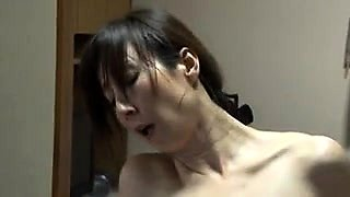 Yui Nakazato Hairy Japanese Teen Cooch Filled With Sperm