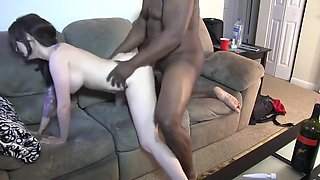 Emo Chick BBC Interracial