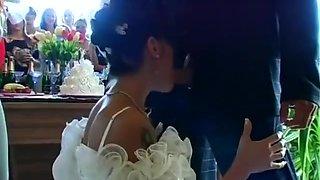 Bride wedding orgy