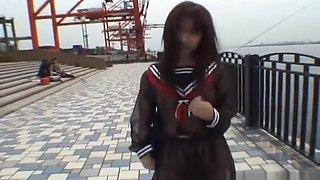 Mikan Lovely Asian student shocks part5